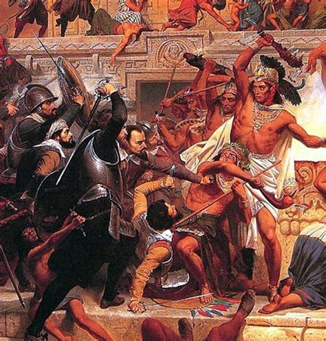 Timeline of Hernan Cortes' Conquest of the Aztecs