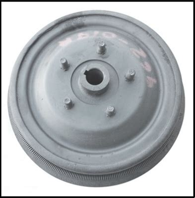 Reconditioned RH or LH rear brake drum/hub assembly for