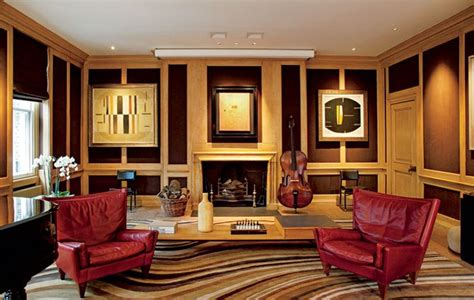 See inside Sting's London Townhouse - Pursuitist