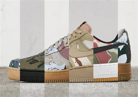 Nike Air Force 1 Low Camo Reflective Pack | SneakerNews