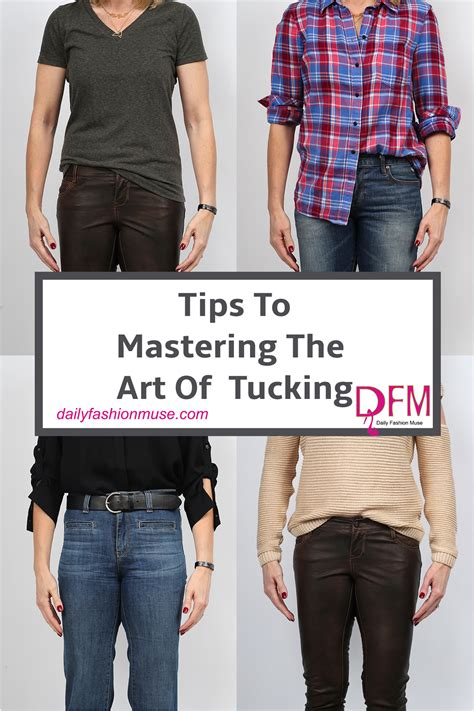 Tucking Tips: 4 Ways To Tuck In Your Shirt - Daily Fashion