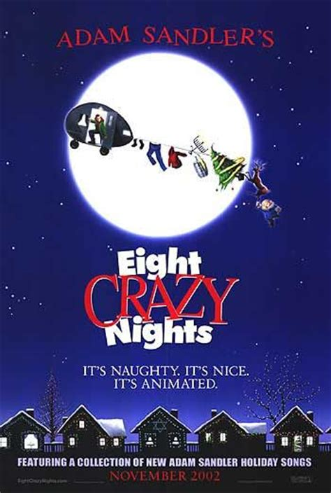 Eight Crazy Nights Movie Poster (#1 of 2) - IMP Awards