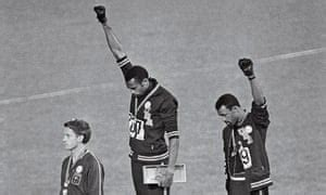 The man who raised a black power salute at the 1968