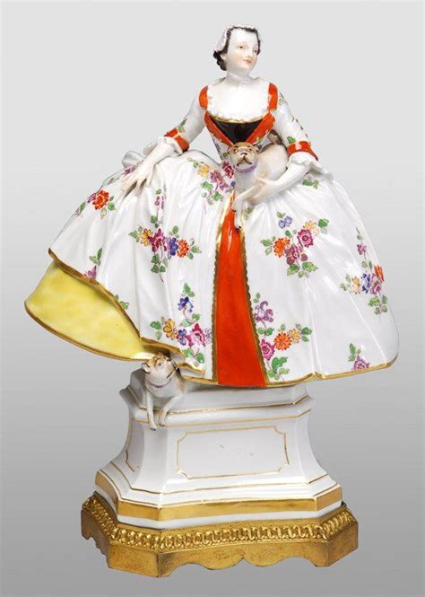 Meissen Porcelain Manufactory (Germany) — Lady of