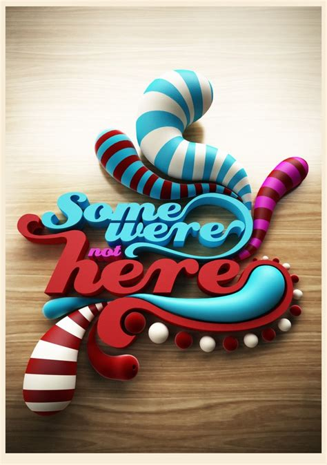 17 Awesome and Creative Typographic Design examples for