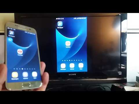 Galaxy S7 / S7 Edge: How to Screen Mirror Wirelessly to