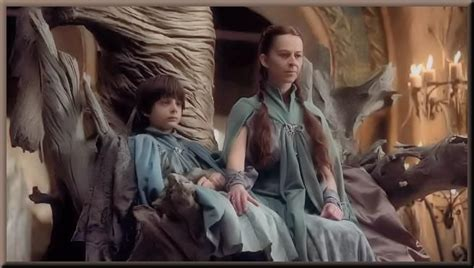 At the Eyrie, Lysa Arryn, sister to Catelyn Stark and