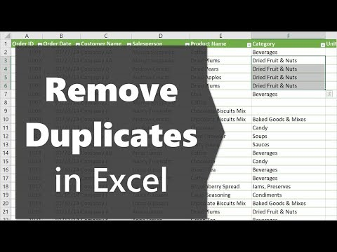 2 Easy Ways to Remove Duplicates in Excel (with Pictures)