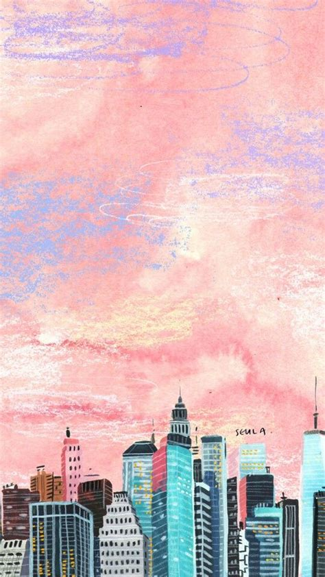 Pin by Mia on Random | Painting wallpaper, Pastel color