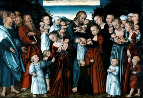 File:Lucas Cranach the Younger, Christ blessing the