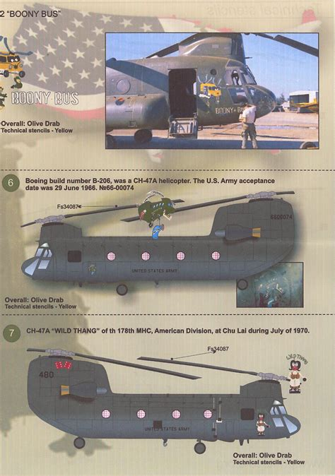 Print Scale Decals 1/48 BOEING CH-47 CHINOOK Helicopter