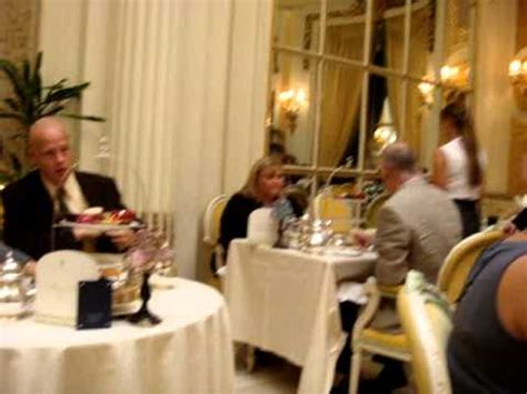Afternoon Tea @ The Ritz - YouTube