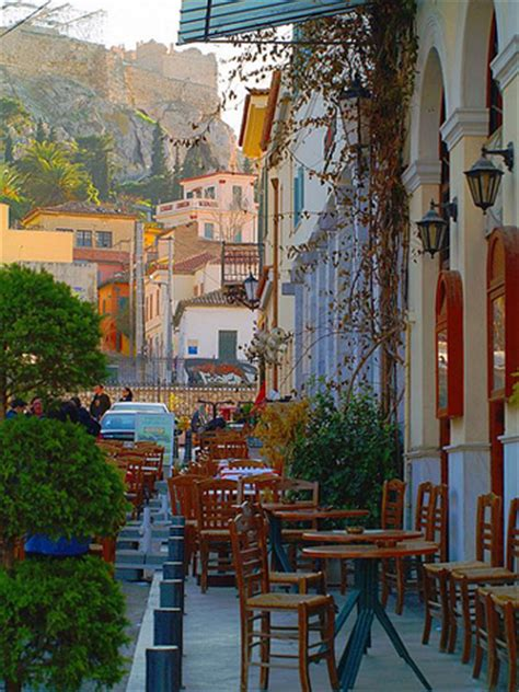 Plaka Area in Athens