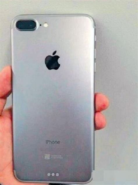 Potential First Photo of iPhone 7 Plus Shows Dual-Lens
