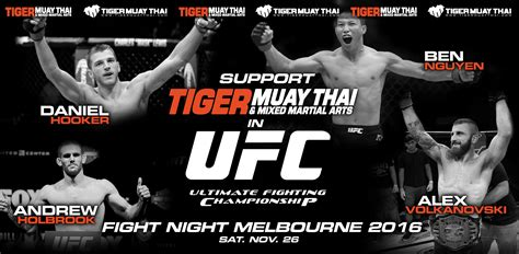 Tiger Muay Thai puts 4 Fighters on the UFC Fight Night